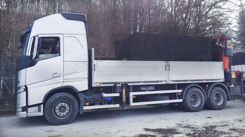 Naše nákladné vozidlo